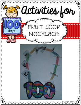 100's Day ~ Fruit Loop Necklace