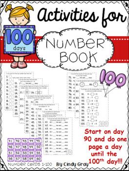 100's Day ~ Number Book