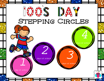 100's Day Stepping Circles