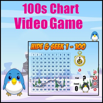 100s Chart Game - Engaging Math Game for Smartboard - Grea