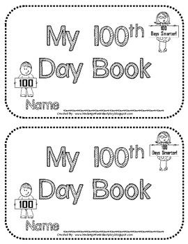 100th Day Book (Book of 100 things)