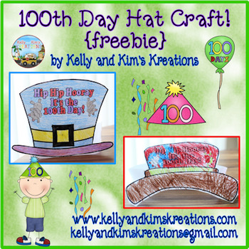 100th Day Hat Craft