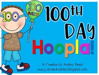 100th Day Hoopla {FREEBIE!}