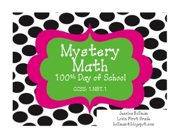100th Day Mystery Math Game