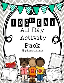 100th Day Pack for All-Day Fun!