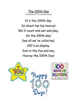 100th Day Poem