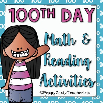 100th Day Reading and Math Pack [FREE]