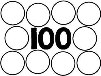 100th Day Sorting Mat *freebie*