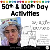 100th Day Station & Center Activities