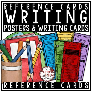 Writing Reference Cards for Writer's Workshop