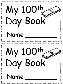 100th Day of School Boo
