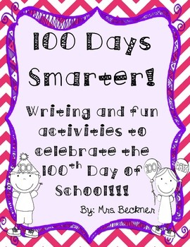 100th Day of School Book/Writing/Art Project