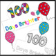 100 Days of School Hats, Coloring Activity, 100th Day of S