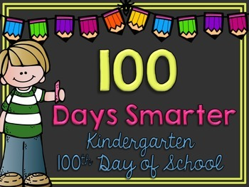 100th Day of School Picture Frame
