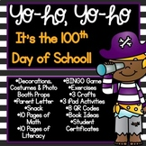 100th Day of School - Pirate Celebration!