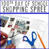 100th Day of School Addition Printable