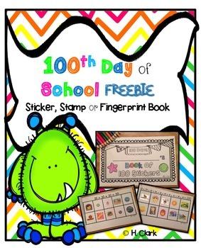 100th Day of School ~ FREEBIE