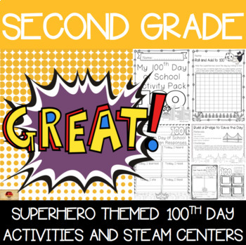 100th Day of School Superhero Themed {Second Grade}