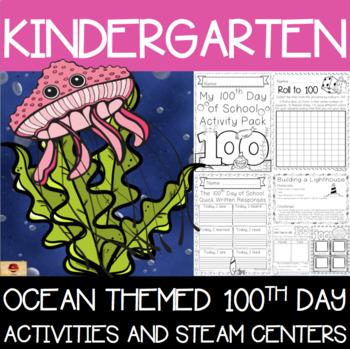 100th Day of School Under the Sea Themed {Kindergarten}