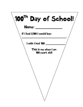 100th day pennant