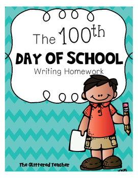 100th day writing homework