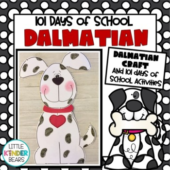 101st Day of School Dalmatian Craft
