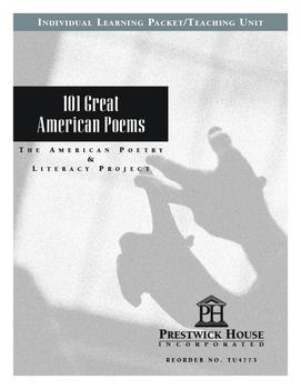 101 Great American Poems Teaching Uunit