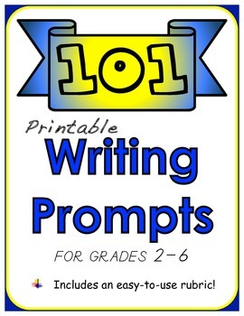 101 Printable Writing Prompts