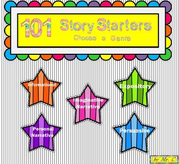 101 Story Starters 4 Young Writers