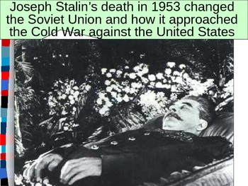 UNIT 13 LESSON 5. The Cold War in the 60s, 70s, and 80s PO