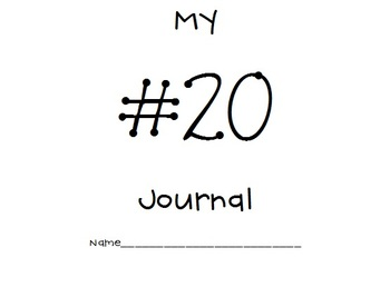 11-20 Common Core Number Journals