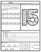 11-20 Number Tracing Activity Sheets: Space Themed