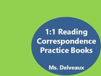 1:1 Correspondence Practice Books