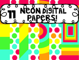11 Digital Papers-Neone, Polka Dots & Stripes
