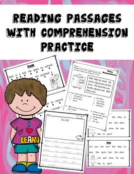 11 Easy Comprehension Passages