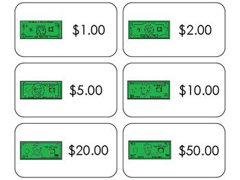 11 Money Beginning Stages Flashcards. Preschool-1st Grade