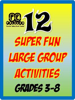 12 SUPER FUN LARGE GROUP ACTIVITIES