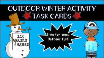 Outdoor Winter Task Cards