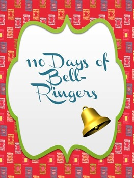 110 days worth of bell-ringers for middle and high school!