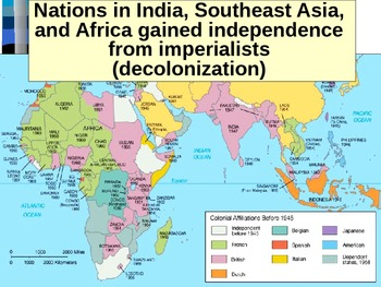 UNIT 14 LESSON 2. Decolonization of Africa and India POWERPOINT