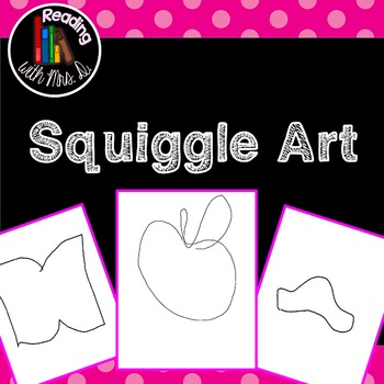 250 Squiggle Art Pages