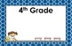 11x17 Moroccan Tile Daily Learning Targets Bulletin Board