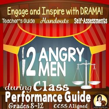 Twelve Angry Men Class Performance Activities, Handouts, &