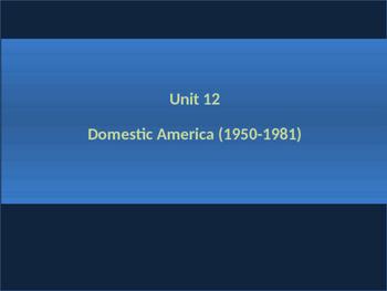 12. Civil Rights - Unit Presentation