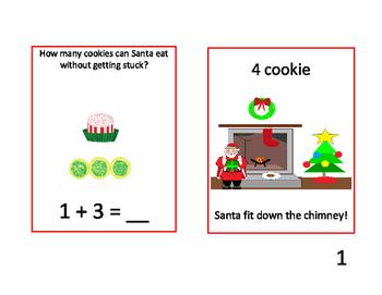12 Cookies of Christmas Adding Task Cards