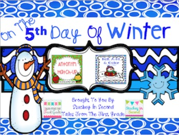 12 Days Of Winter- Day Five Freebie