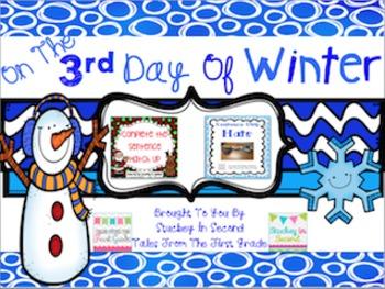 12 Days Of Winter- Day Three Freebie