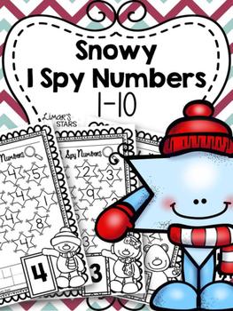 Snowy Numbers I Spy