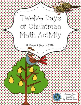 12 Days of Christmas Math Activity {with optional Augmente