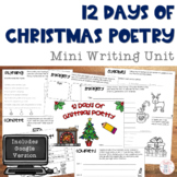 12 Days of Christmas Poetry Mini Lesson Booklet